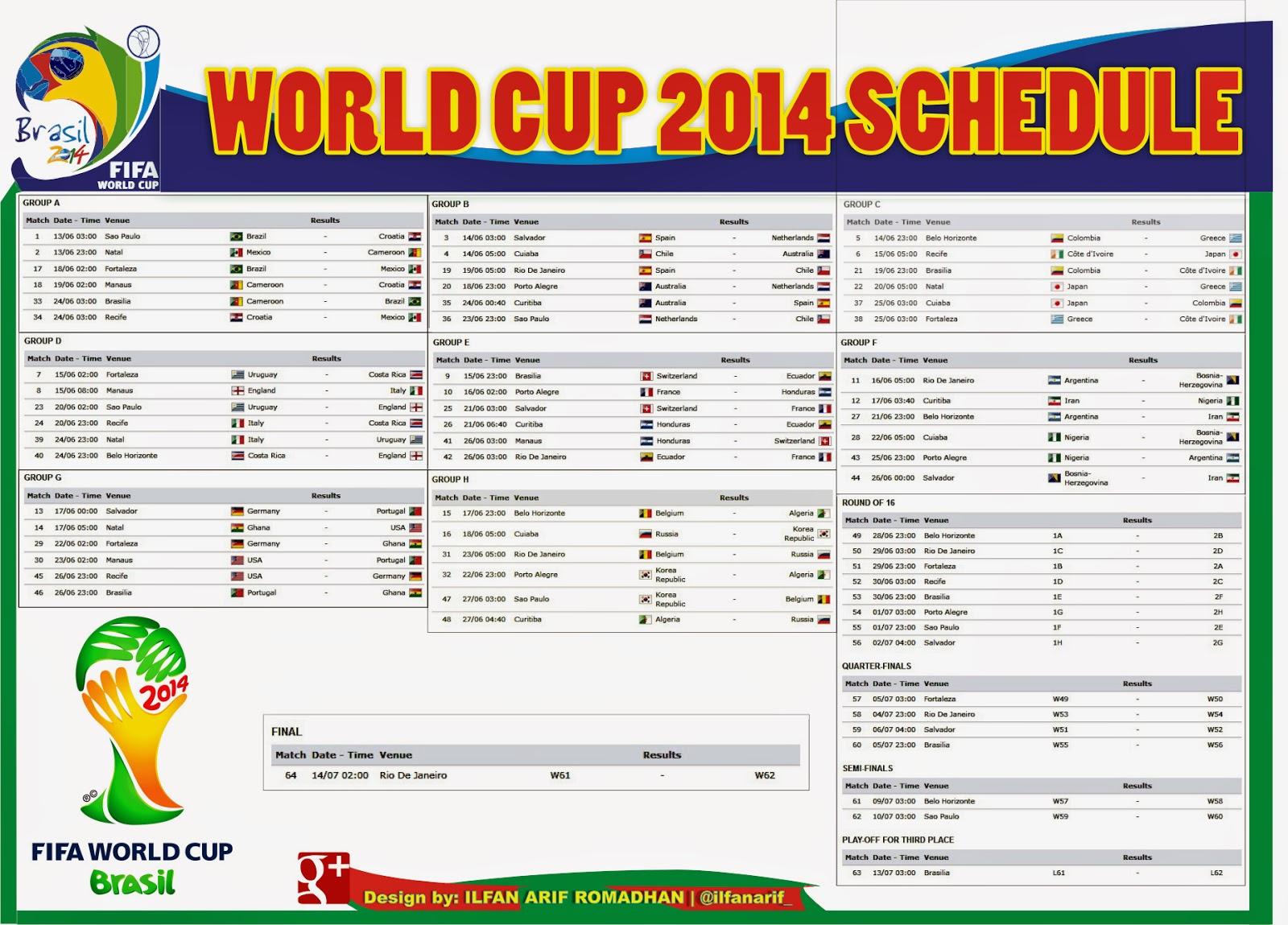 Download jadwal piala dunia 2014 excel.